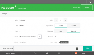 La nouvelle version PaperCut MF 18.2 est disponible en Général Release